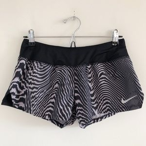 Nike Dry Crew Printed Running Shorts Size Small